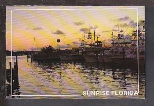 Sunrise in FL Postcard BIN
