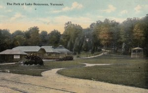 VERMONT, PU-1911; The Park at Lake Bomoseen