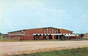 Bolivar Missouri Southwest Baptist College Fieldhouse Vintage Postcard J77189