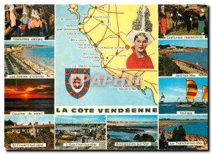 Modern Postcard La Cote Vendeenne