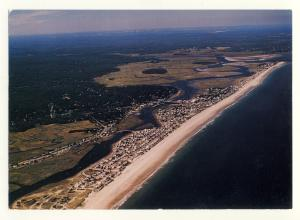 Scituate, Massachusetts/MA/Mass Postcard, Aerial View Of Humarock & Fourth Cliff
