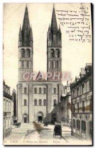 Old Postcard Caen L & # 39abbaye men
