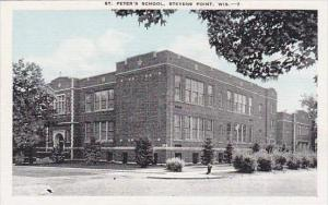Wisconsin Stevens Point St Peter's School