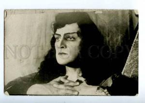216349 SLIVINSKY Russia OPERA Star Singer DEMON Vintage PHOTO