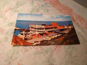 Vintage 1960s Cliff House Restaurant, San Francisco, California Postcard