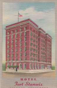 JOHNSTOWN, Pennsylvania, 1930-1940´s; Hotel Fort Stanwix