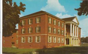 McCuskey Hall, West Virginia Wesleyan College, Buckhannon, unused Postcard