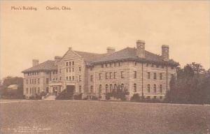 Ohio Oberlin Men's Building Oberlin College Albertype