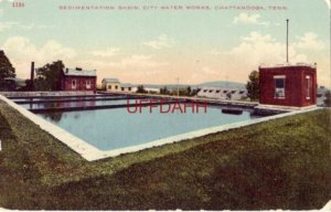 SEDIMENTATION BASIN, CITY WATER WORKS, CHATTANOOGA, TN.