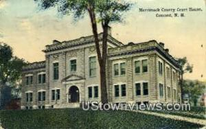 Merrimack County Court House Concord NH 1914