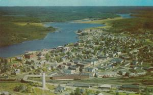 CHAPLEAU, Ontario, Canada, 1950-60s; Aerial View