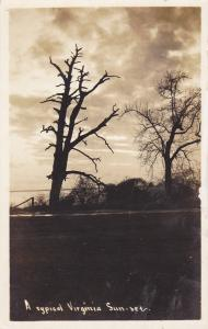 RP, A Typical Virginia Sunset, Virginia, 1900-10s