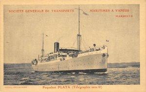 Plata French Line Ship Unused