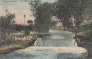 PHOENIX , Arizona , PU-1909 ; Cross-cut Canal