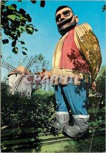 Postcard Modern Meli park adinkerke failure Geant
