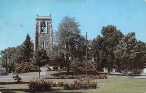 USA Bedford Park and the First Congregational Church Stamford Conn 1968