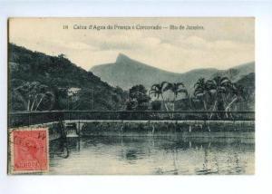 172349 BRAZIL Rio de Janeiro Caixa d'Aqua do Franca Corcovado