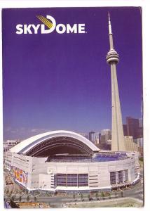 Skydome, CN Tower, Toronto, Ontario,
