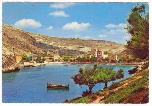 MALTA , Xlendi Bay Gozo, PU-1966
