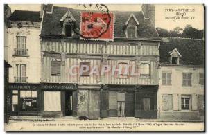 Old Postcard Ivry Battle House Henry Barber