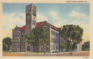 Court House Urbana Illinois Curteich
