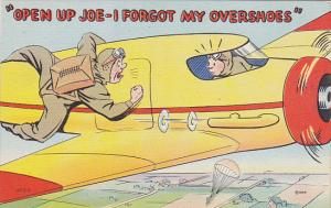 Military Humour Open Up Joe I Forgot My Overshoes