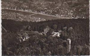 RP: Aerial View Konigstuhlgipfel mit Blick auf die Stadt, Heidelberg, Baden-W...