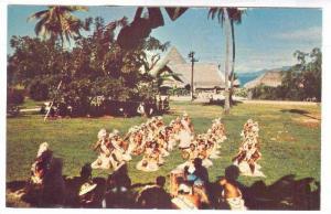 Dance group , Hotel Bali Hai, Raiatea, Tahiti , 40-60s