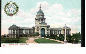 AUSTIN, Texas; State Capitol, 00-10s