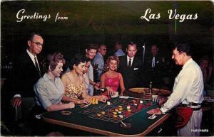 1969 LAS VEGAS Hacienda Casino Interior Western Scott postcard 3720