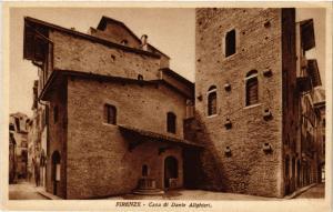 CPA FIRENZE Casa di Dante Alighieri . ITALY (492422)
