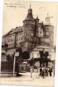 CPA MONTBÉLIARD - Le Chateau (183017)
