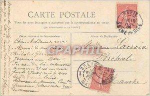 Postcard Old Paris Pantheon