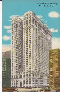 NEW YORK CITY, New York, 1930-1940's; The Equitable Building