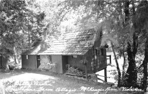 Yida Oregon~Hawthorne Farm Cottage along McKenzie River~c1950s RPPC-Postcard