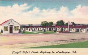 Arkansas Huntington Stanfils Cafe & Court Highway 71 sk2862