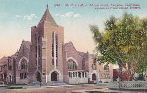 Exterior,  St. Paul's M.E. Church South,  San Jose,  California,  00-10s