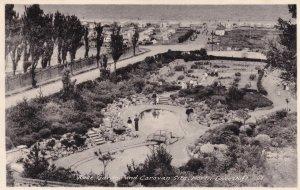Caravan Site Lowestoft Vintage Aerial Real Photo Postcard