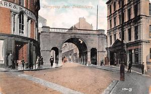 Londonderry United Kingdom, Great Britain, England Ferryquay Gate Londonderry...