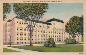 Michigan Detroit Kresge Administration Building