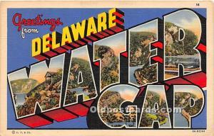 Water Gap, Delaware, DE, USA 1940