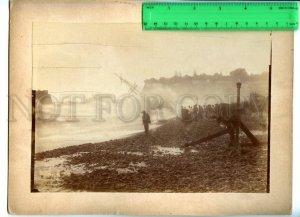 171127 MADEIRA Storm Vintage RARE REAL PHOTO