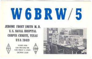 W6BRW/5 Confirming QSO With 4X0TP, San Diego, California, PU-1965