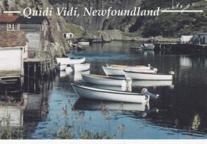 Boats, Quidi Vidi Village,  St. John's,  Newfoundland,  B.C,  Canada,  50-70s