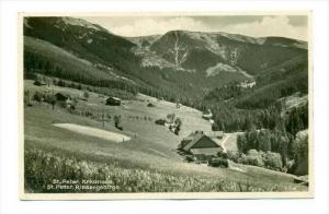 RP  St Peter, Krkonose, Riesengebirge, PU-1921 Czech Republic