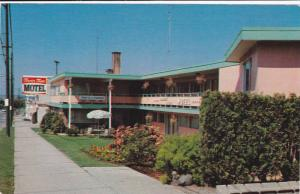Tourist Town Motel, Center Of Greater Vancouver, Vancouver, British Columbia,...