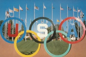 COLORADO SPRINGS, Colorado, 1970-90s; U.S. Olympic Training Center