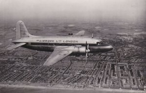 RP: AIRWORK Ltd Airlines of London , Airplane , 1930-40s
