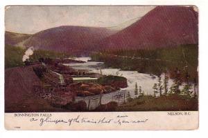 Bonnington Falls, Train, Nelson, British Columbia, Warwick 1702