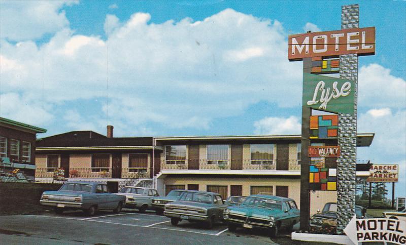 Motel Lyse Enr. , RIMOUSKI , Quebec ,  Canada , 50-60s #1